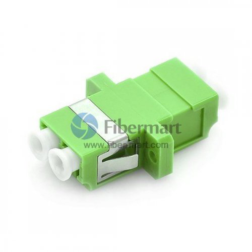 What are the interfaces and structures of fiber adapters?